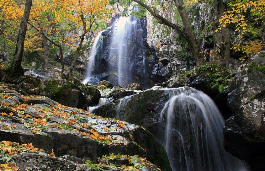 Боянский водопад в национальном парке Витоша