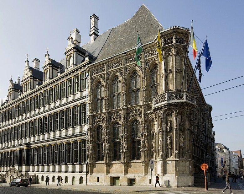 Городская Ратуша Гента, Бельгия