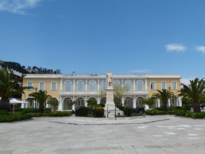 Площадь Солому, Закинф, Греция
