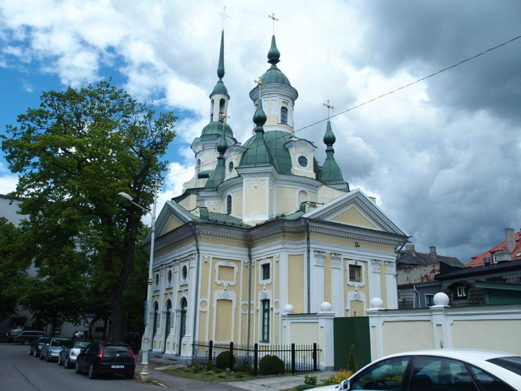 Церковь Святой Екатерины, Пярну, Эстония