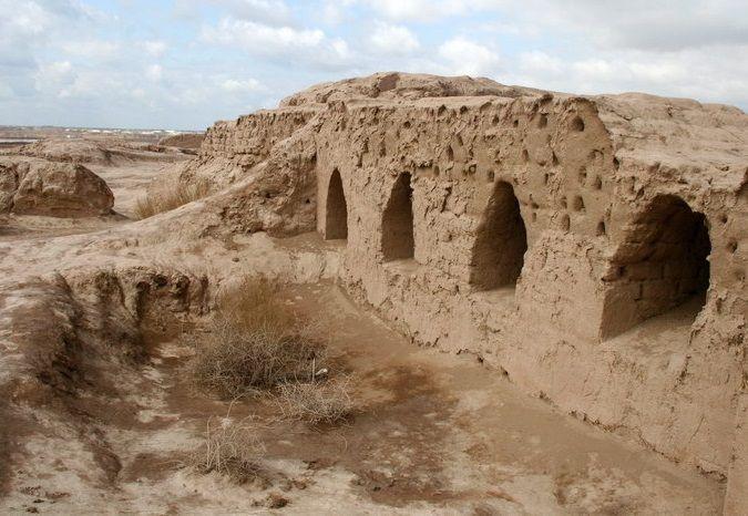 Древнее городище Топрак-Кала, Ургенч, Узбекистан