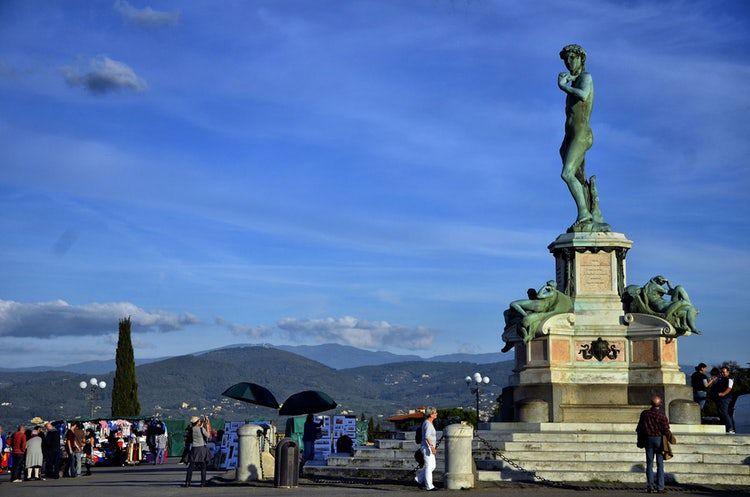 Площадь Микеланджело — площадь во Флоренции, ставшая одной из городских достопримечательностей