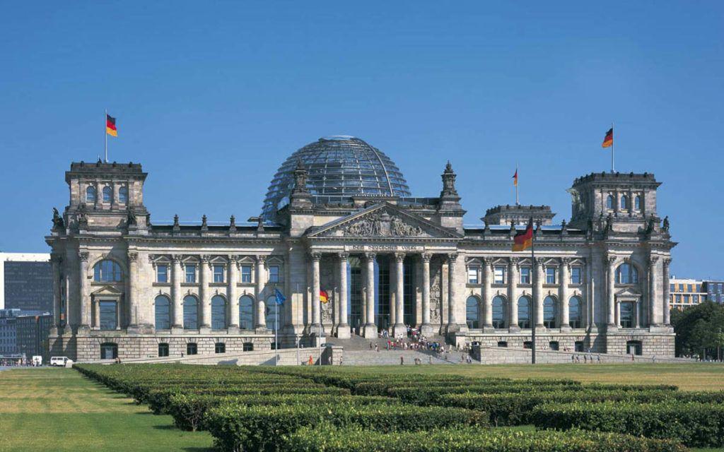 Германия ,Берлин , парламент