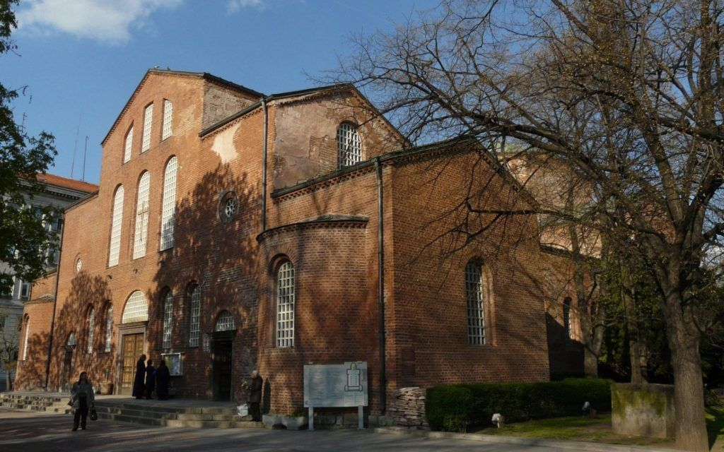 Базилика Святой Софии в столице Болгарии