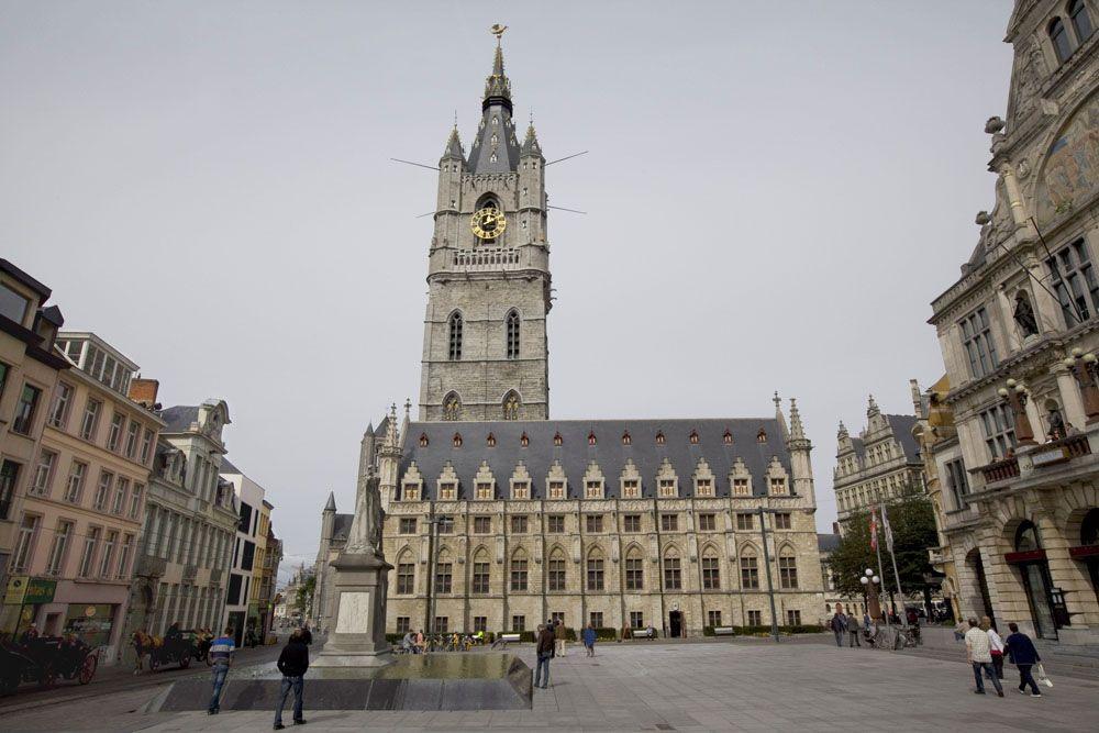 Башня Беффруа, Гент, Бельгия
