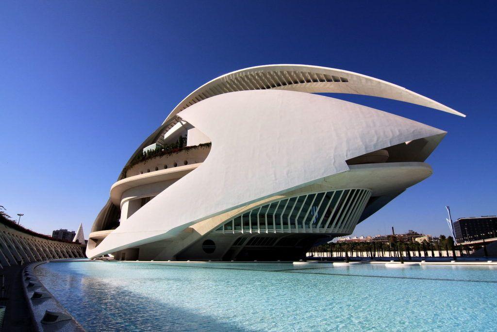 Дворец искусств королевы Софии в Валенсии
