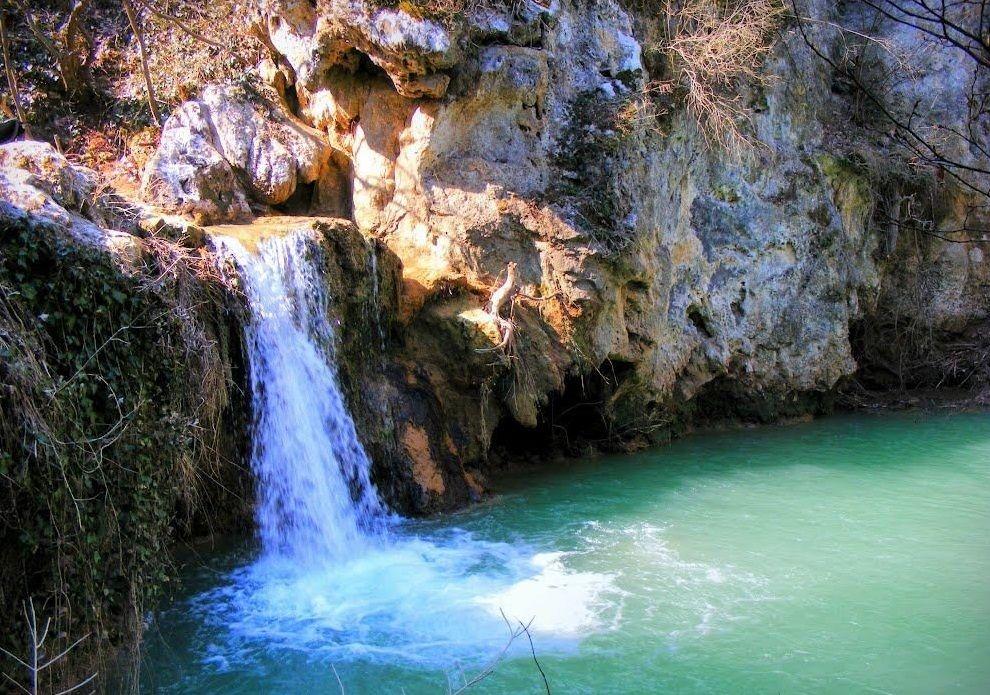 Водопад Кая-Бунар близ Велико-Тырново
