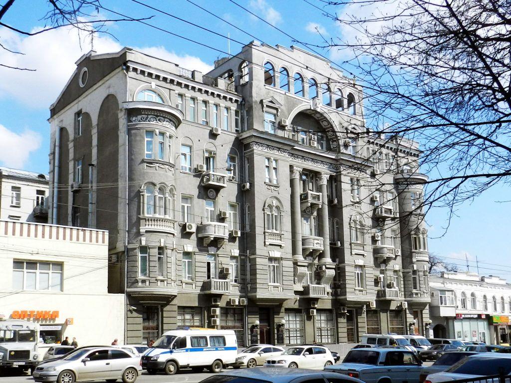 Доходный дом Чирикова, Ростов-на-Дону