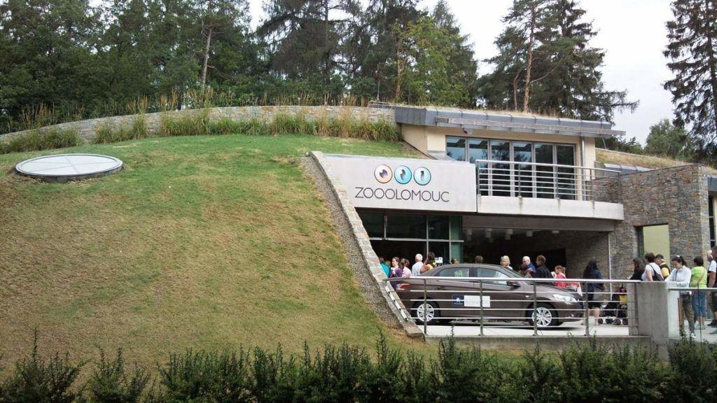 Зоопарк в городе Оломоуц, Чехия