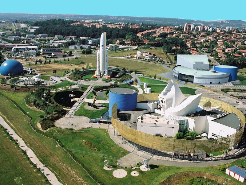 Космический городок в Тулузе