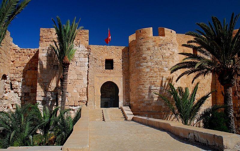 Крепость Бордж-эль-Кебир, Махдия, Тунис