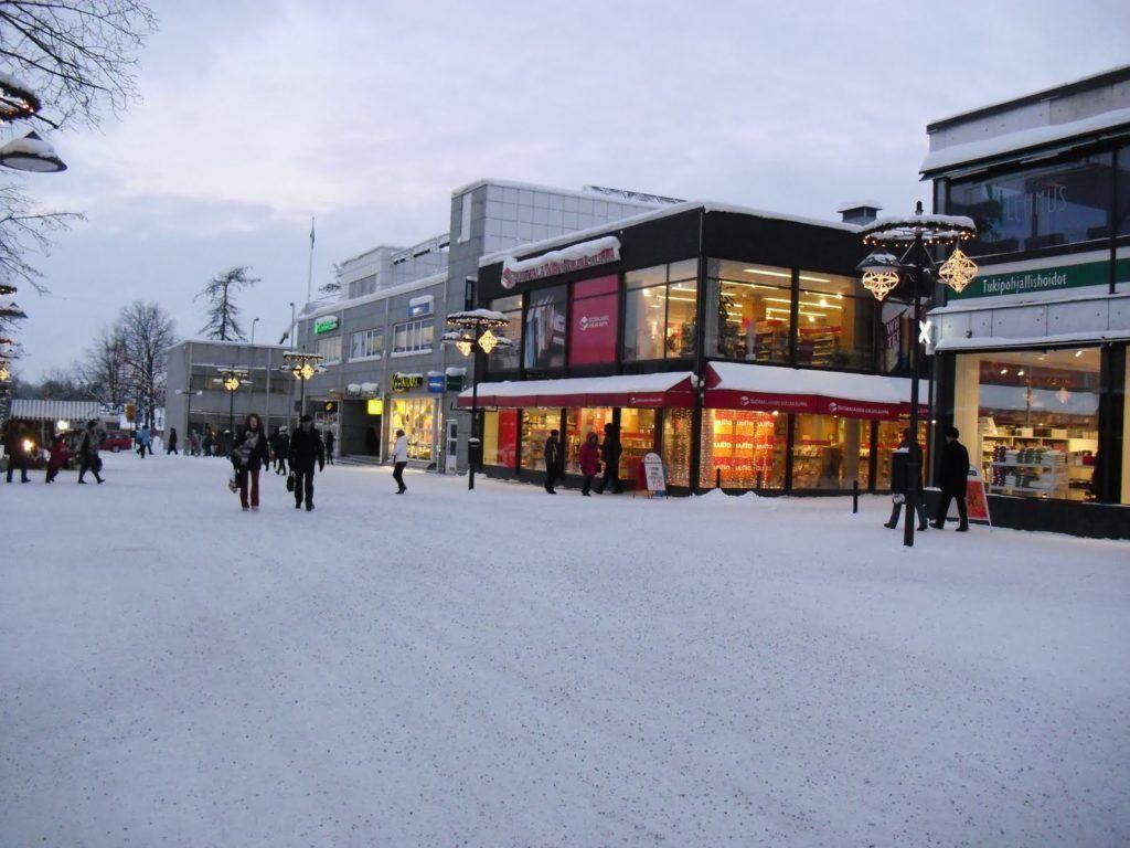 Торговые центры в Лаппеэнранте, Финляндия