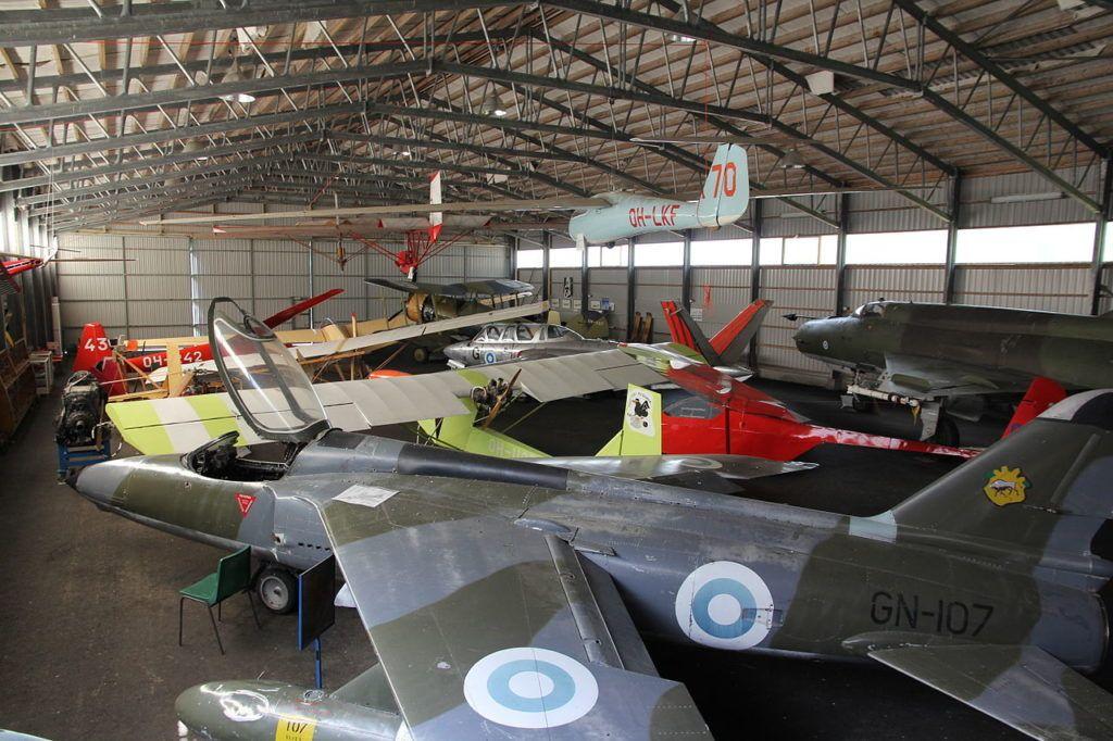 Музей воздухоплавания в городе котка, Финляндия