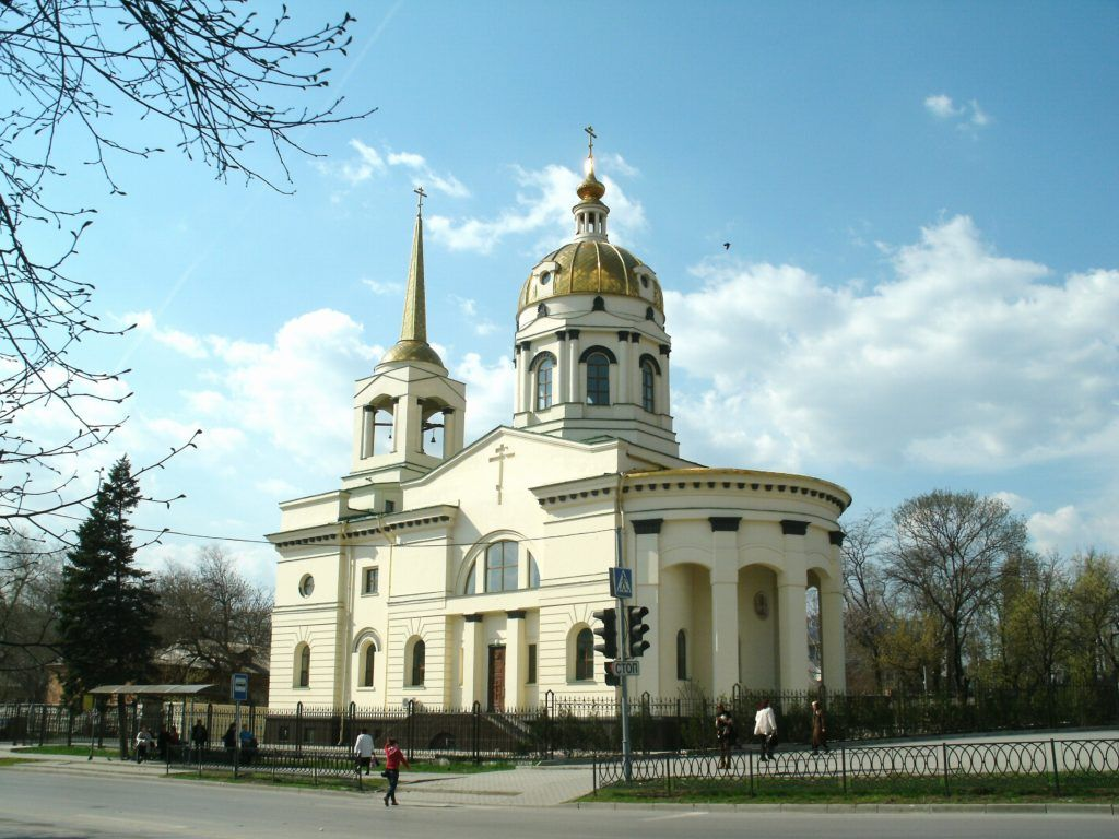 Храм Иоанна Крондштатского в Ростове-на-Дону
