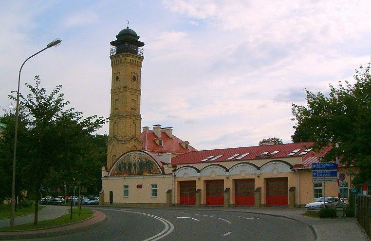 Музей пожарной охраны в Гродно