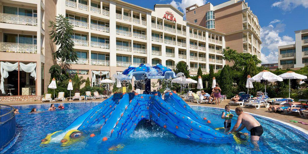 Отель Альба на курорте Солнечный берег