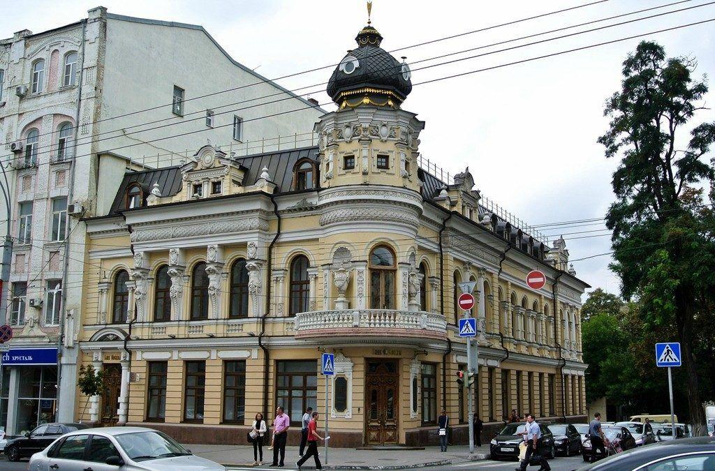 Дом актрисы Маргариты Черновой в Ростове-на-Дону