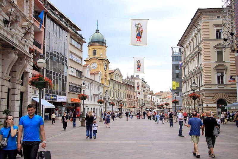Улица Корзо в Опатии