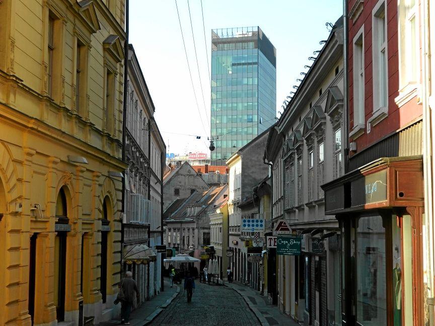 Верхний город в Загребе