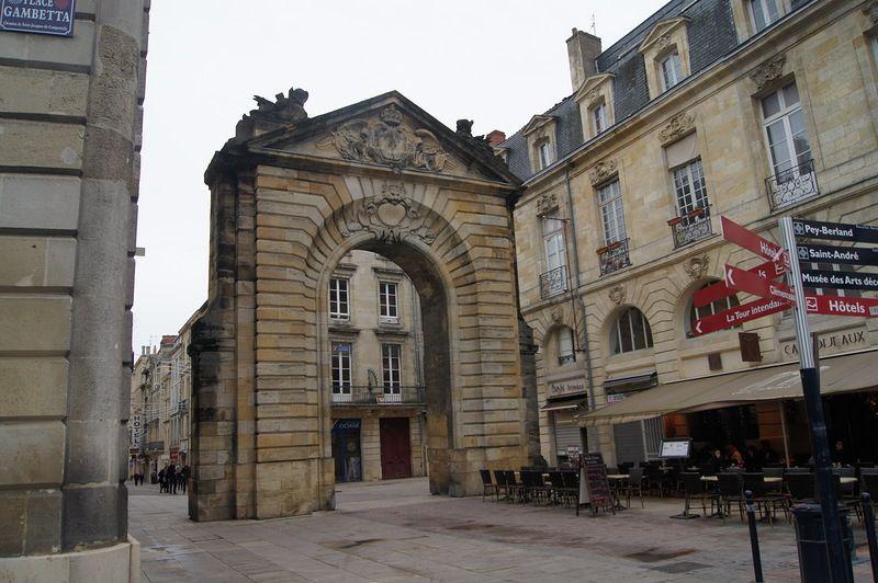 Ворота Дижо во Франции, Бордо