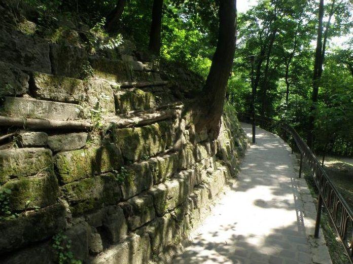 Пейзажный парк Высокий Замок на Княжьей Горе во Львове