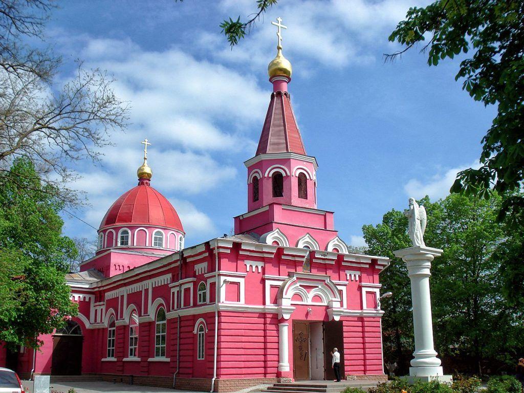 Церковь Вознесения Господня на Братском кладбище в Ростове-на-Дону