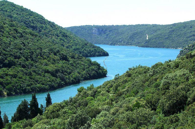 Лимский канал, Ровинь, Хорватия