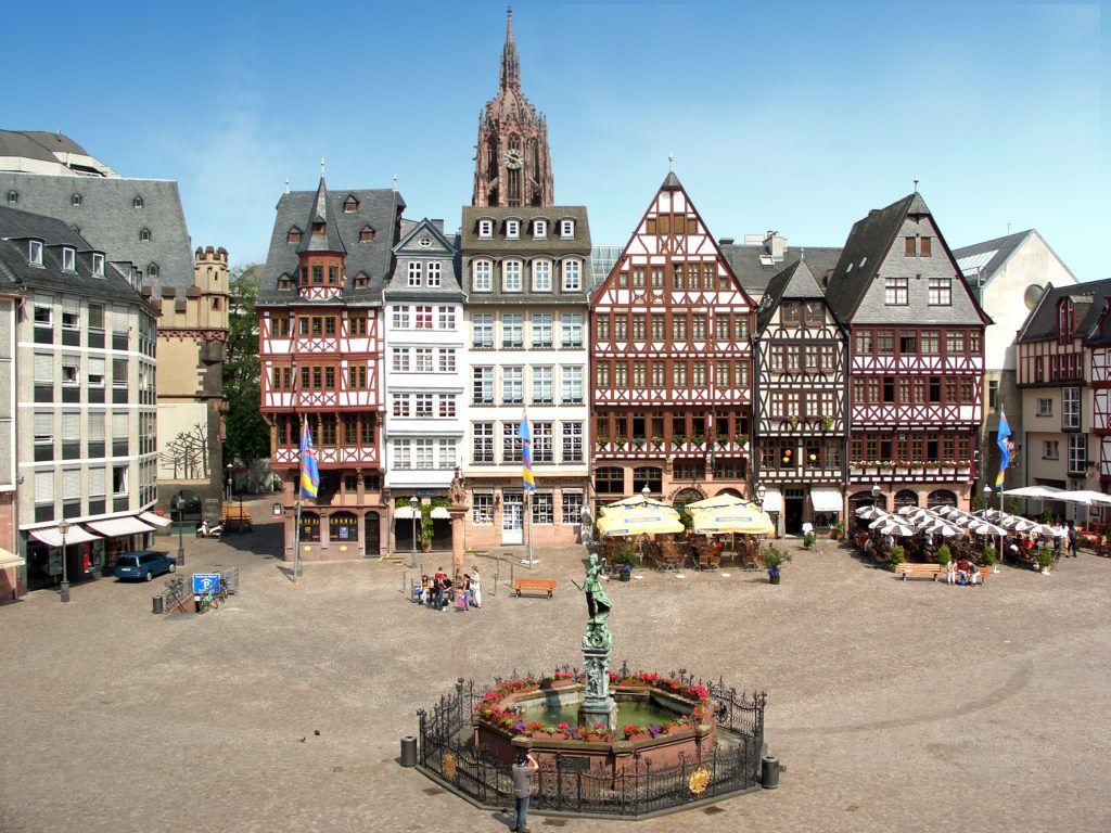 Площадь Ремерберг в Франкфурте