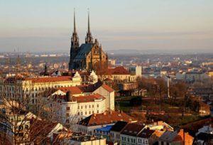 Город Брно-бывшая столица Моравии