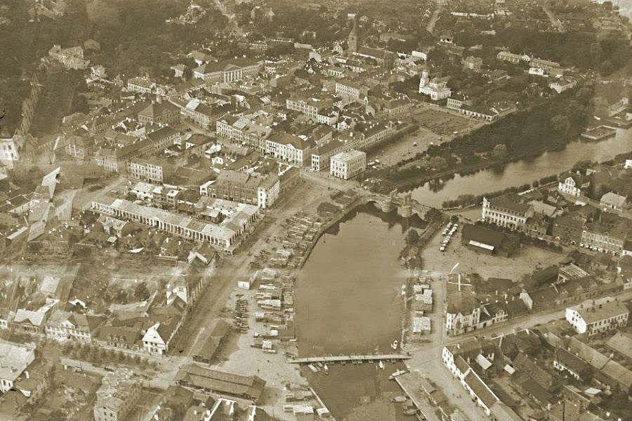 Город Тарту в 1922 году