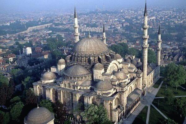 Мечеть султана Сулеймана Великолепного