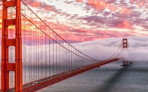 «Золотые ворота» в Сан-Франциско