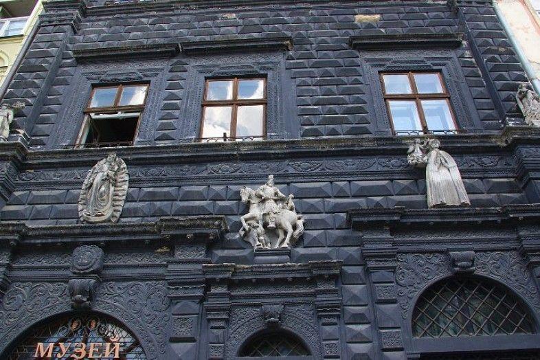 Черный дом во Львове