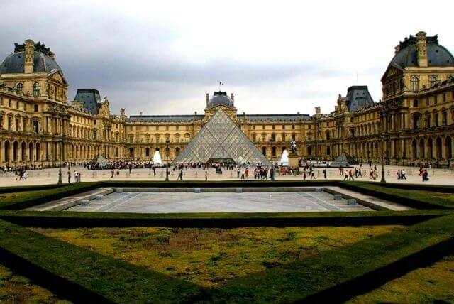 Лувр -французский художественный музей в Париже