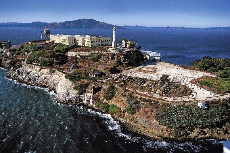 Тюрьма «Алькатрас» близ Сан-Франциско