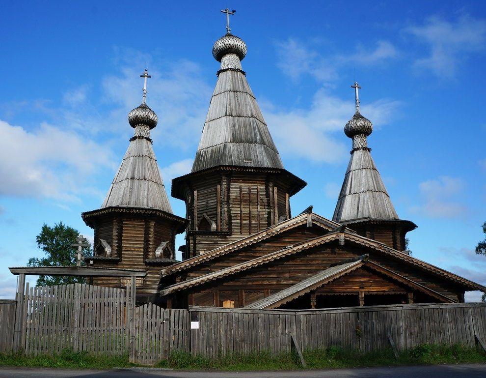 Успенский собор в городе Кемь
