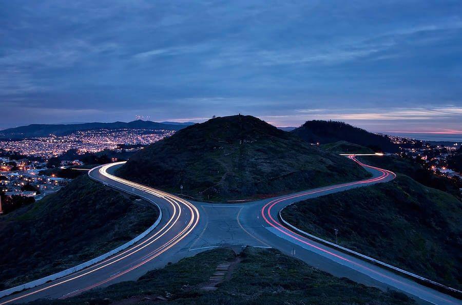Холмы Твин Пикс в Сан-Франциско