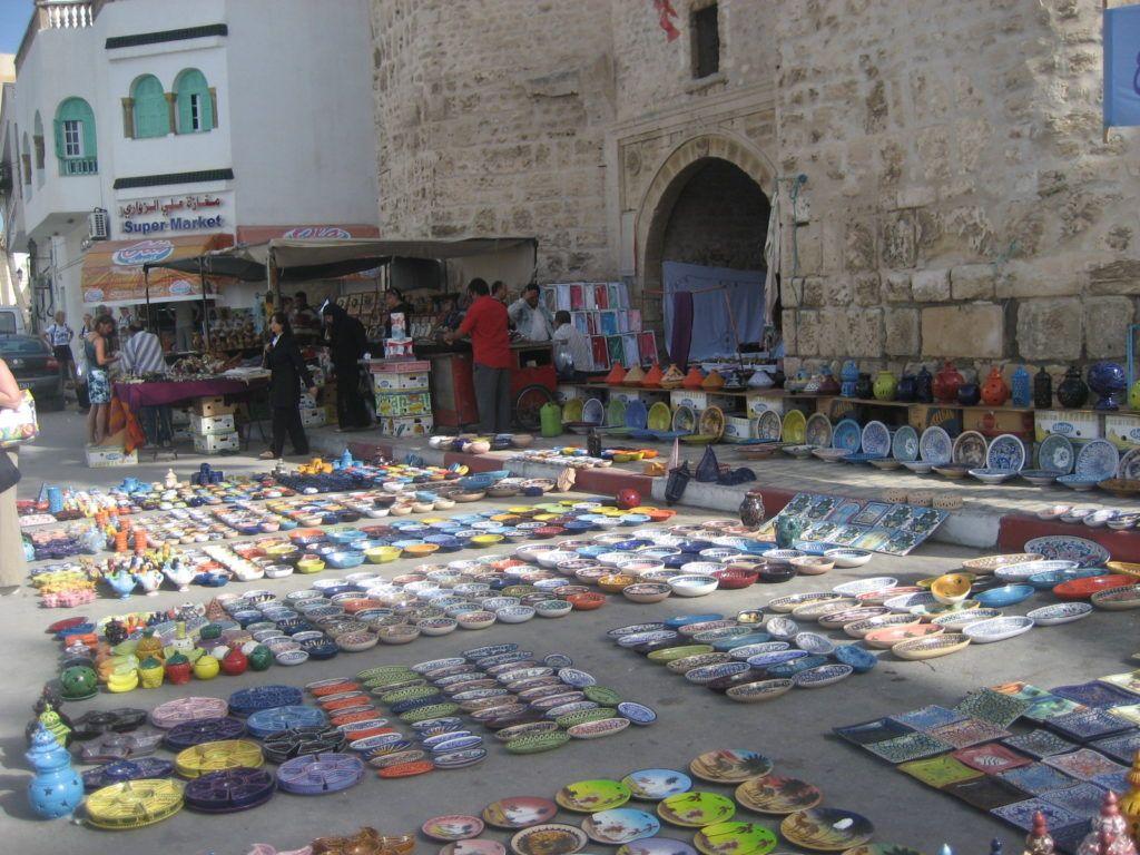 Шоппинг в Махдии, Тунис