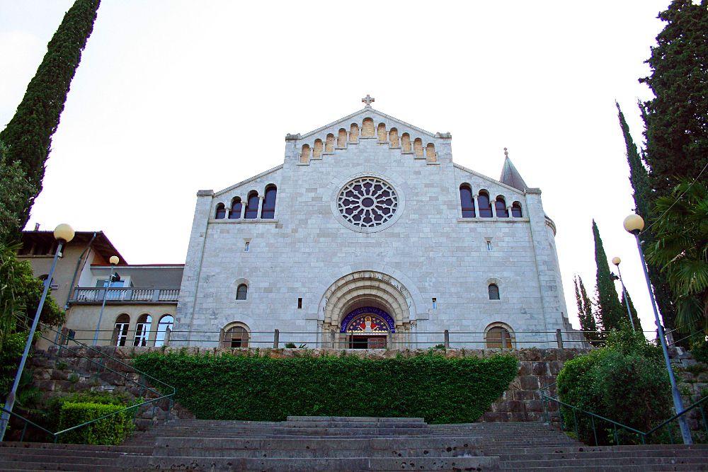 Церковь Благовещения Девы Марии в Опатии, Хорватия