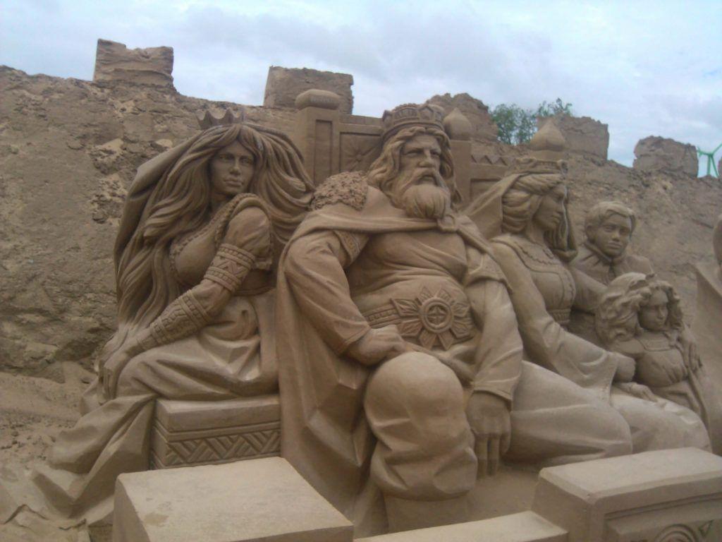 Фестиваль песчаных фигур в Лаппеенранте