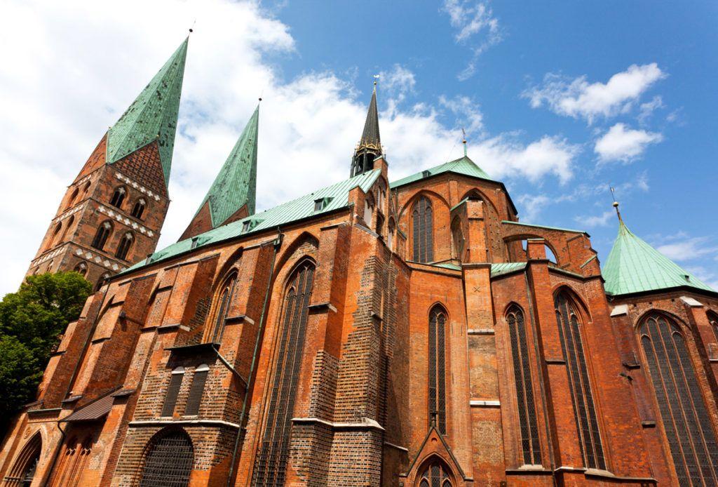 Церковь Святой Марии в городе Любек