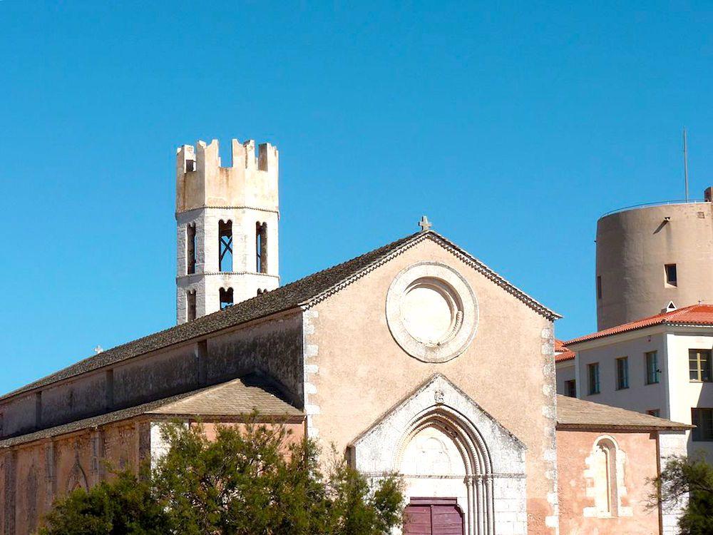 Церковь Святого Доминика, остров Корсика, Франция