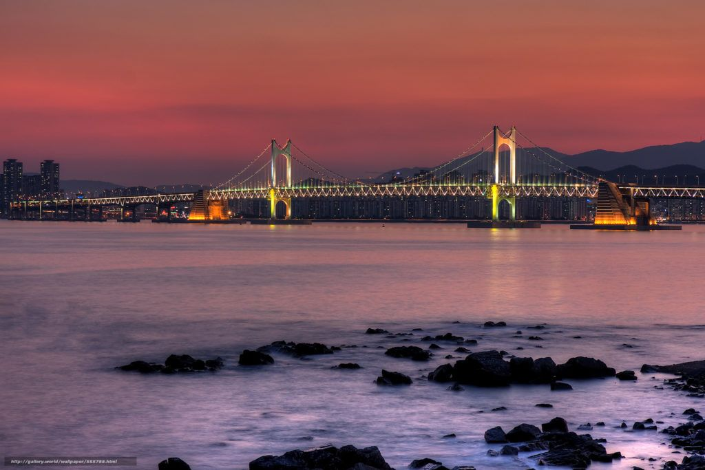 Мост Кваннан, Южная корея, Пусан