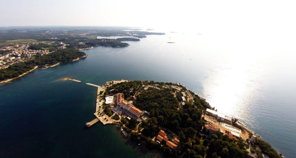 Остров святого Николая в Хорватии