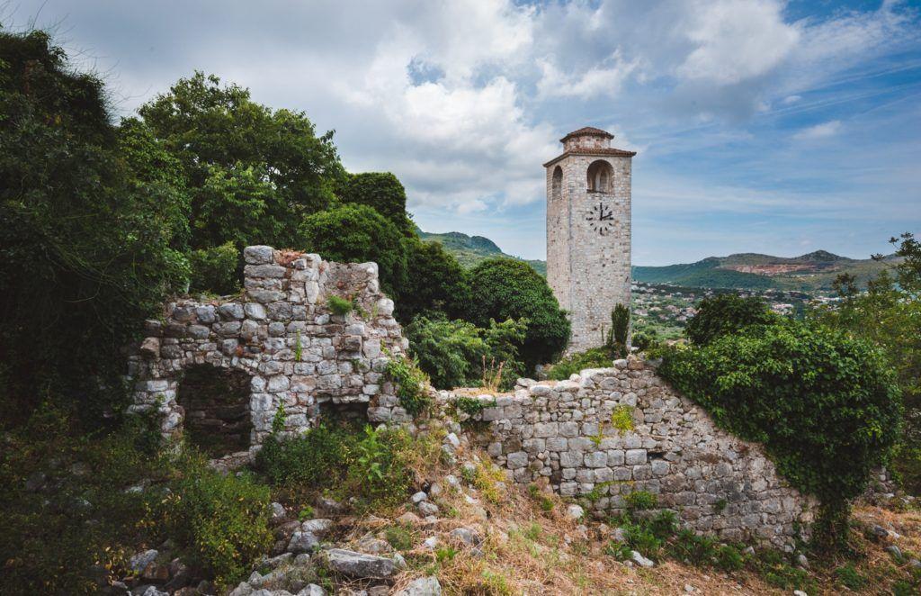 Часовая башня в Старом городе, Бар, Черногория