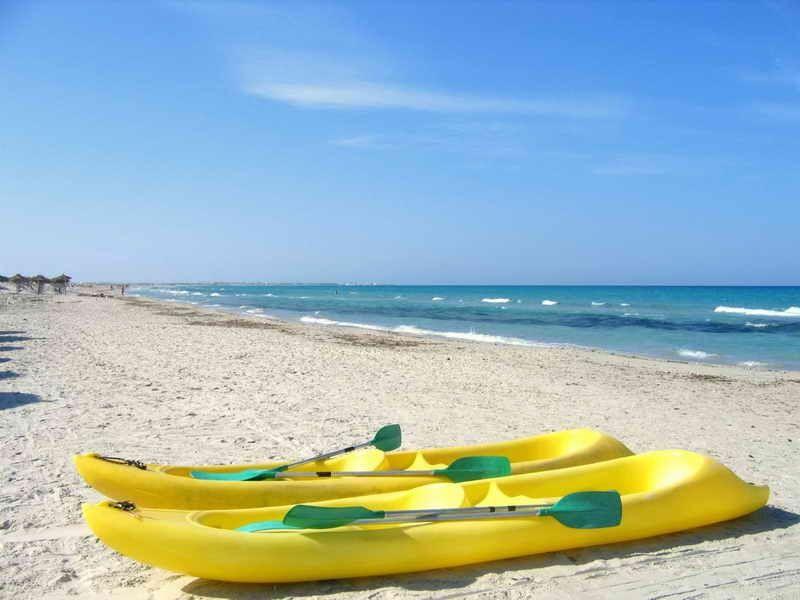Пляжи Махдии, Тунис