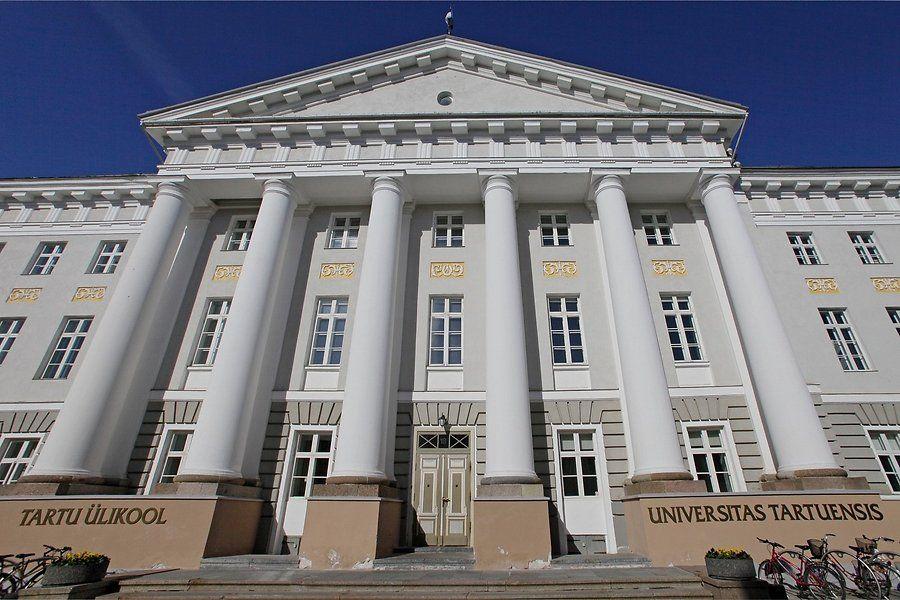 Главное здание университета в Тарту