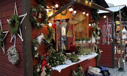Рождественская ярмарка в Лаппеэнранте