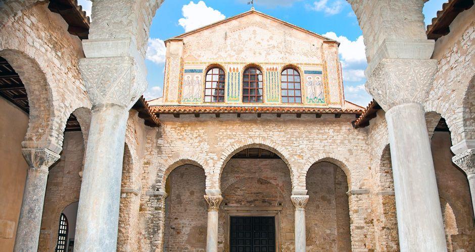 Ефразиева базилика в городе Пореч