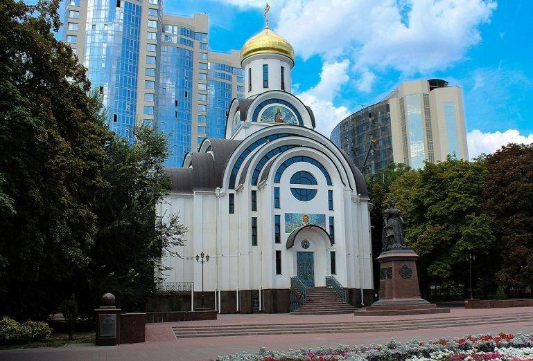 Старо-Покровский храм в Ростове-на-Дону